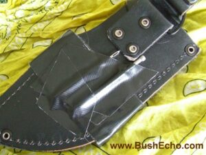 knife sheath modification