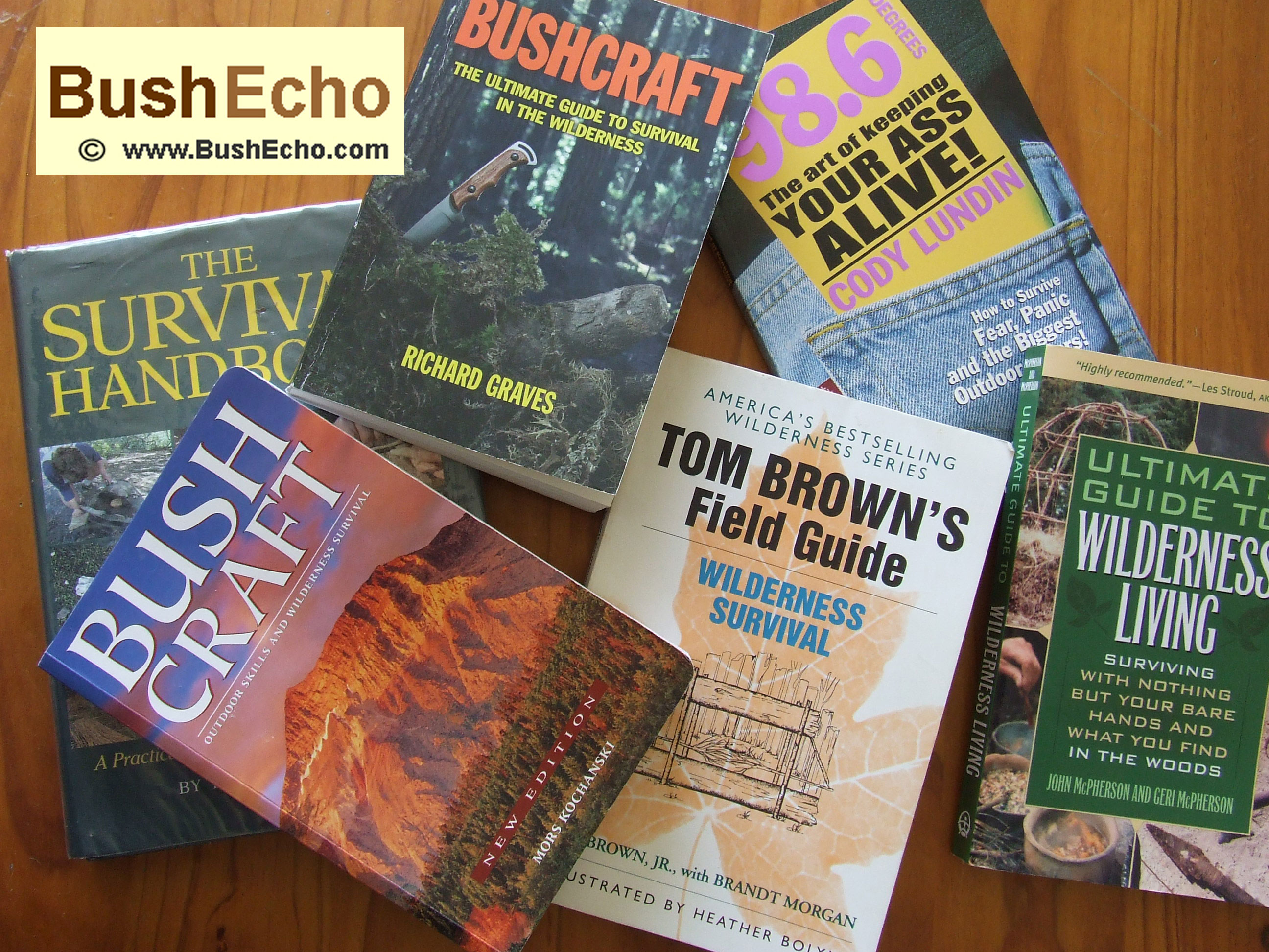 Best Bushcraft and Survival Books
