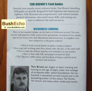 bushcraft book Tom Brown