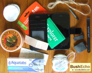 Survival kit phone case