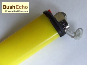 Bushcraft Bic Lighter Hack