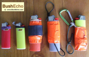 Bushcraft lighter hack