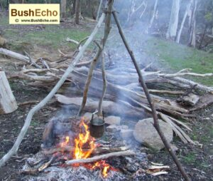 Bushcraft timber hitch uses