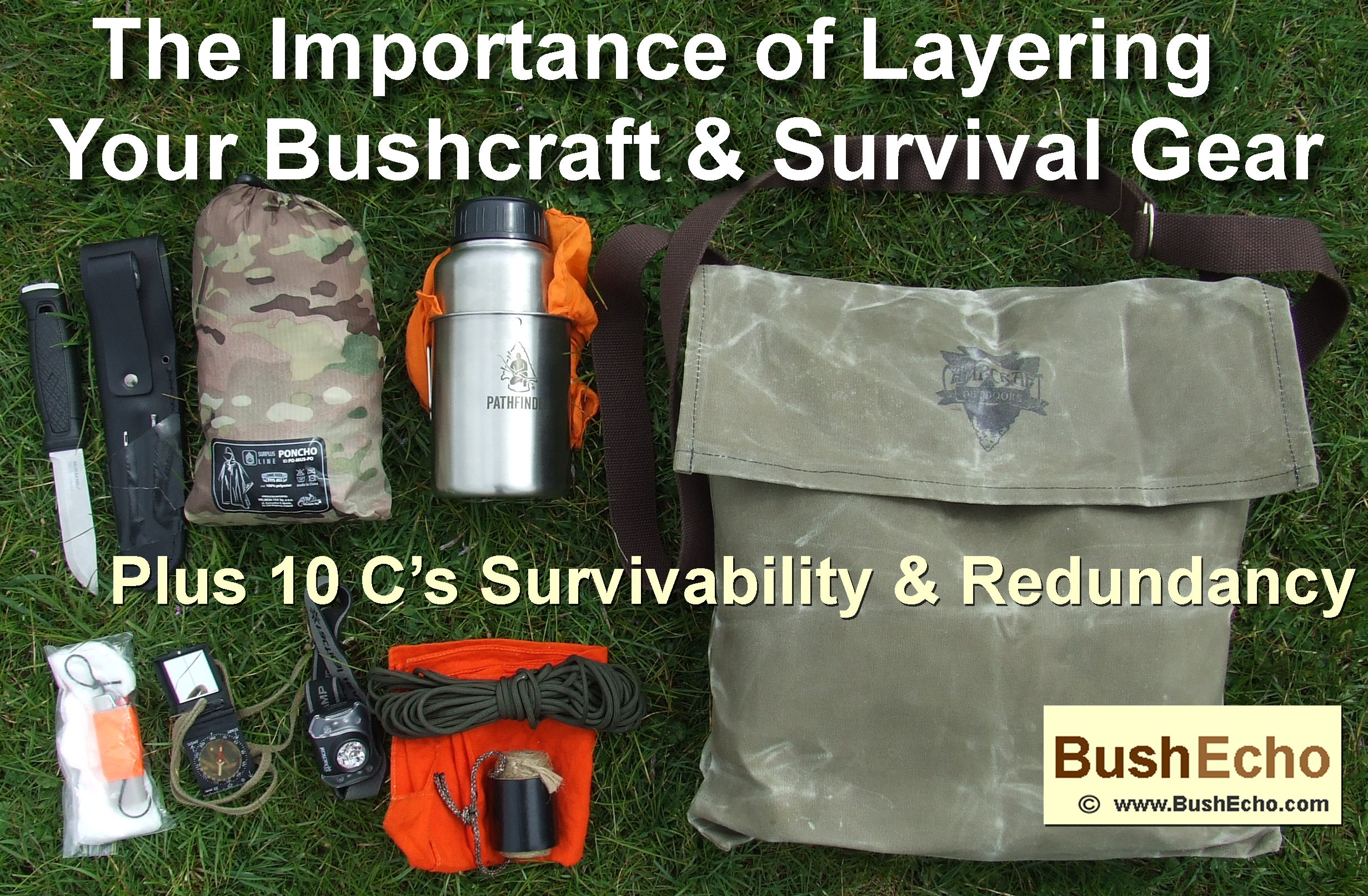 Bushcraft & Survival Kit Layers