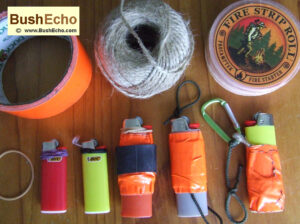 Modify a Bic lighter for bushcraft
