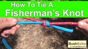How To Tie A Fisherman's Knot