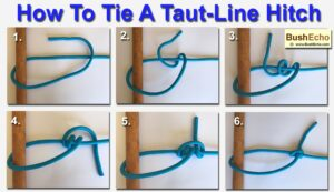 How to tie a taut-line hitch
