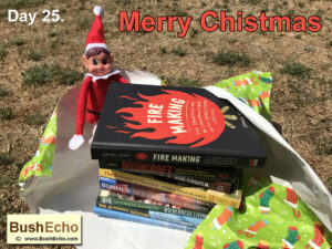 Elf on the shelf bushcraft books