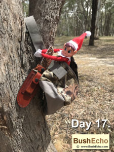 Elf on the Shelf bushcraft & survival kit