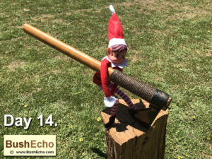 Elf on the Shelf Frontier Tomahawk
