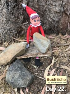 elf-on the shelf-primitive tools hand-axe