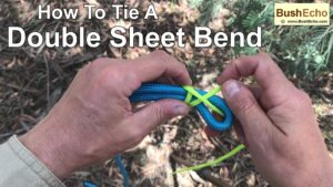 How To Tie A Double Sheet Bend