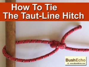 How To Tie A TautLine Hitch