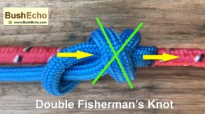 Tie A Double Fisherman's Knot
