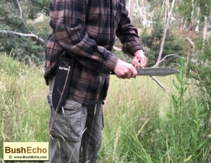 Bowie bushcraft knife review