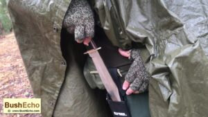 Bowie knife bushcraft review