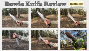 Bowie Old Timer Knife Review