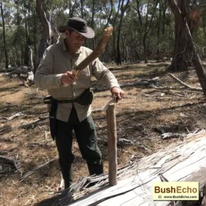 Review bushcraft Bowie knife