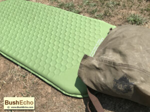 Bushcraft haversack pillow