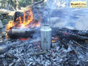 Bushcraft Pathfinder steel bottle