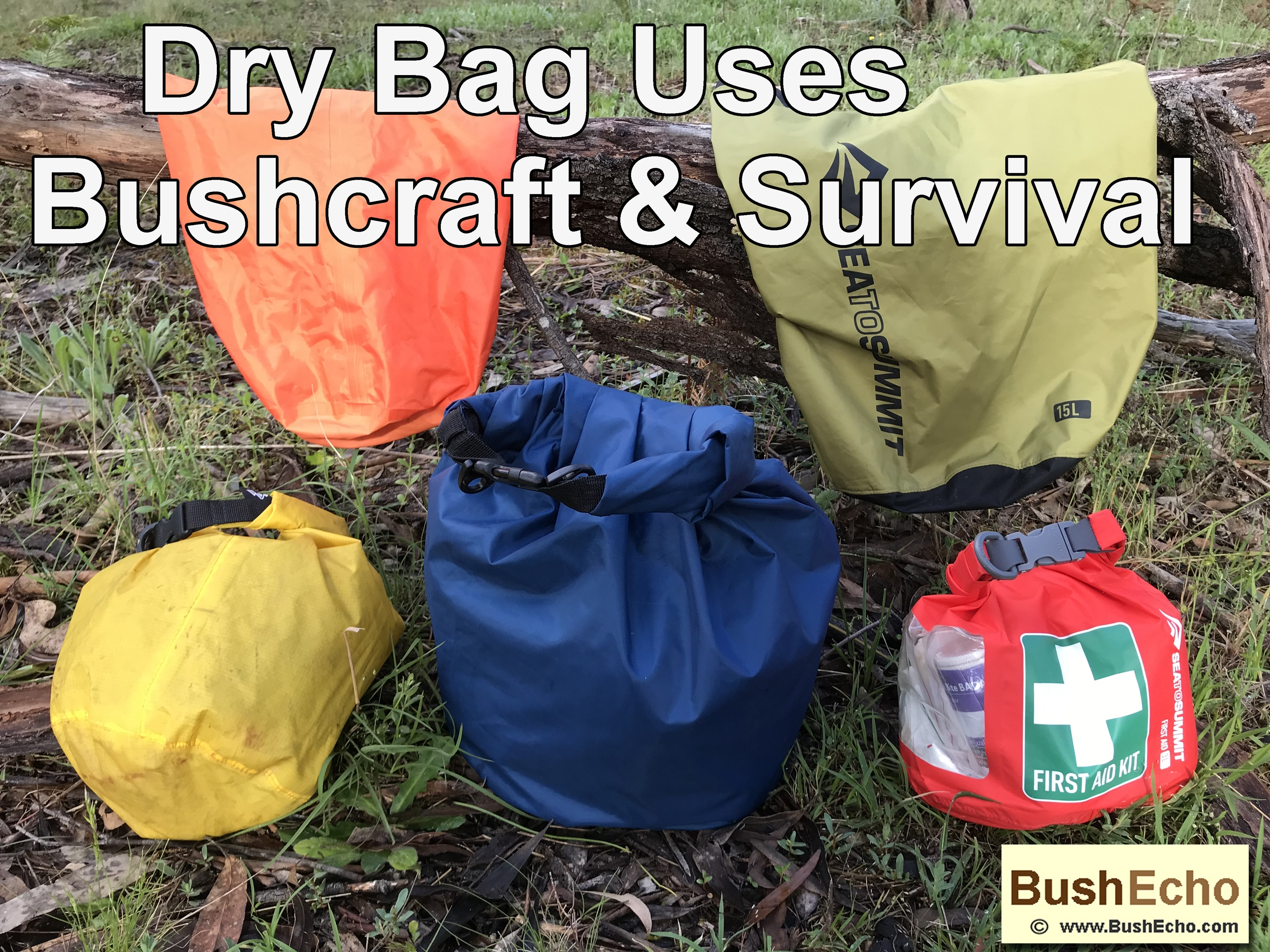 Bushcraft & Survival Uses For The Dry Bag.