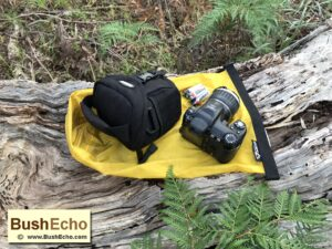 Bushcraft uses dry bag