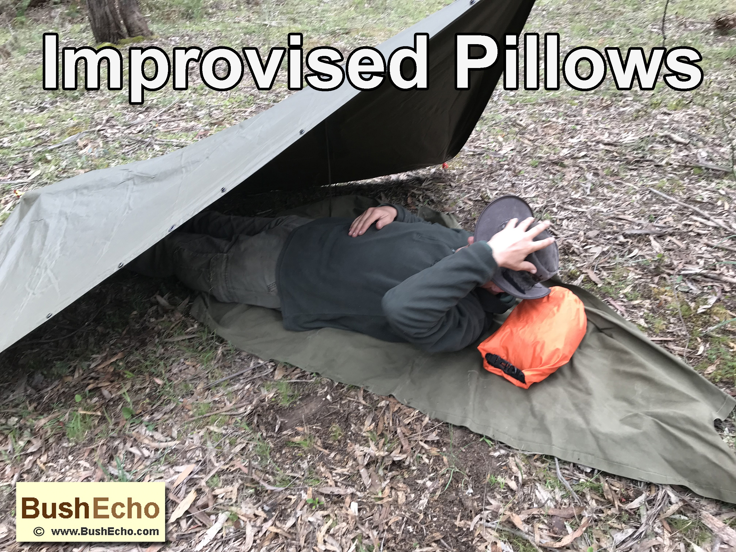 Improvised Pillows For Camping