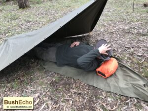 Survival bushcraft use dry bag