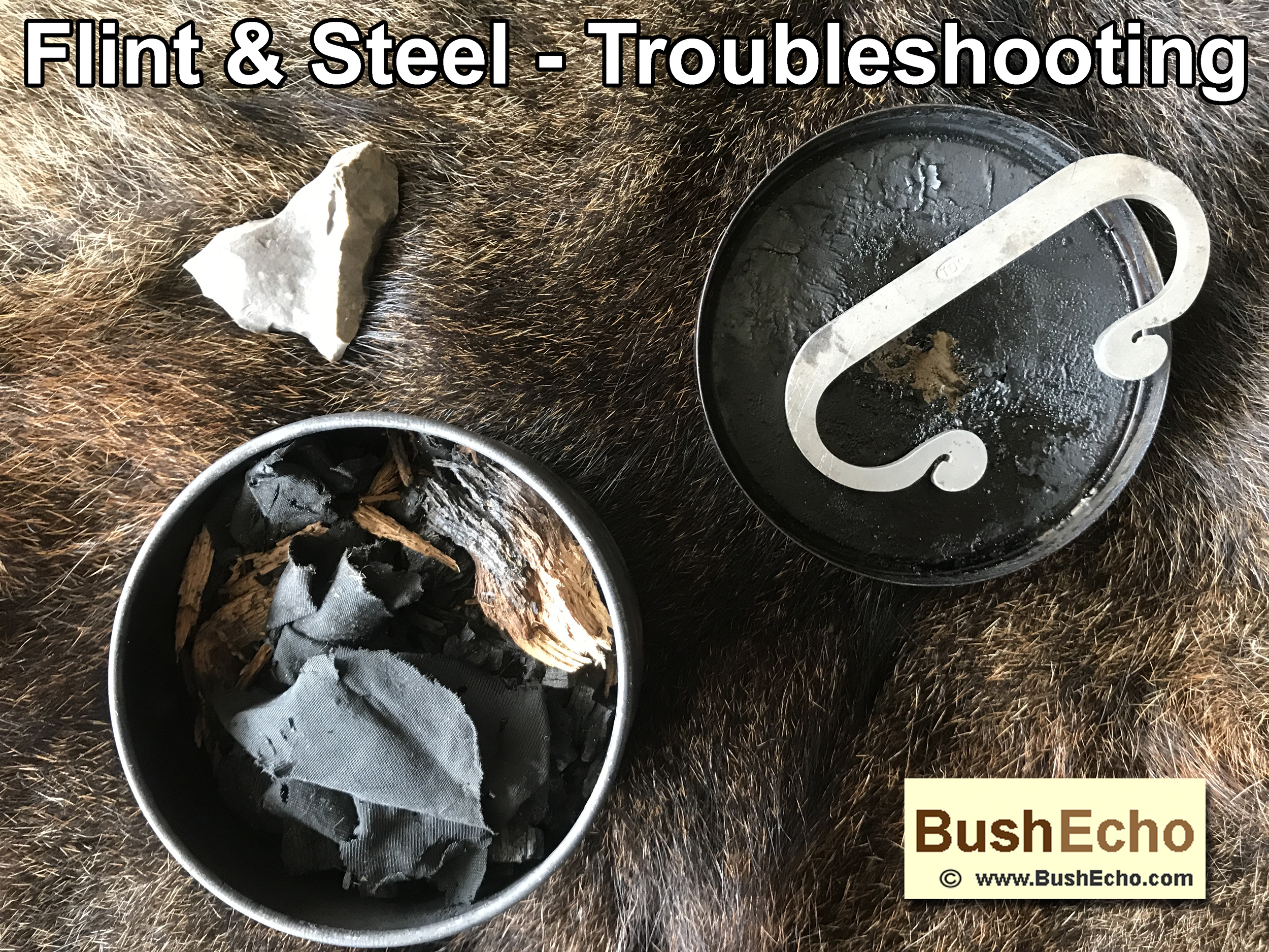 Flint and Steel Troubleshooting