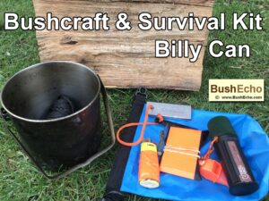 Bushcraft Survival Kit Billy Can