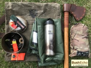 Survival Bushcraft Kit Billy can