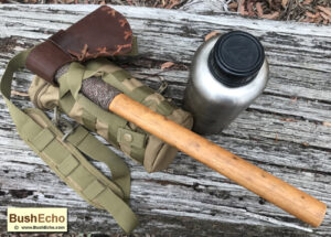 Wrap tomahawk with paracord