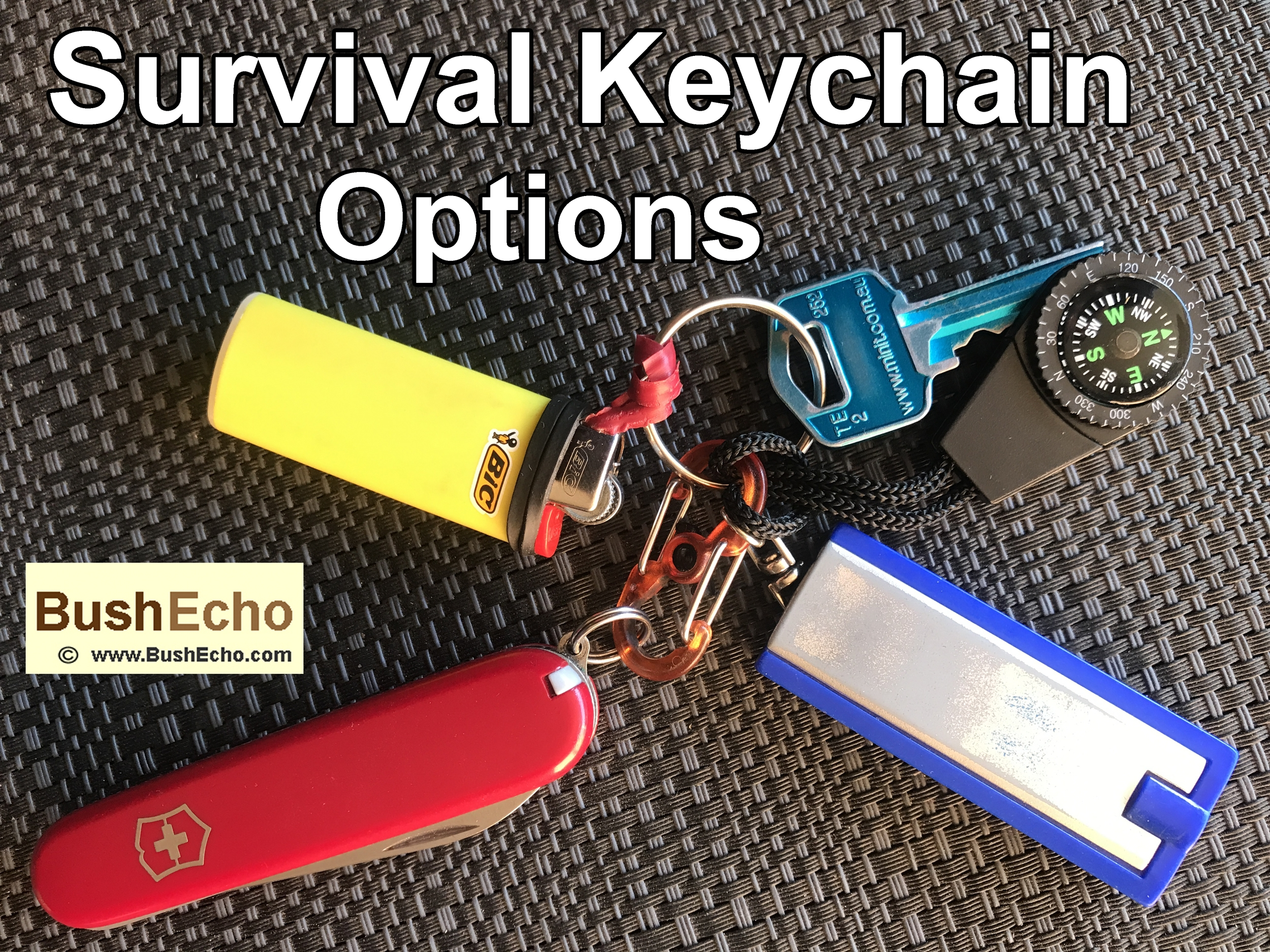 Survival Keychain Options