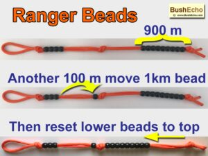 how to use pace counting beads